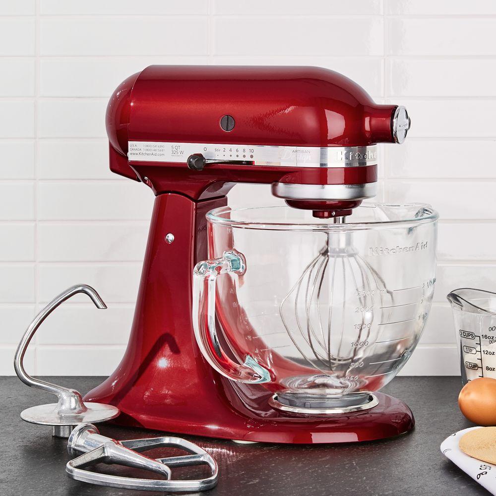 KitchenAid ® Artisan ® Design Series Candy Apple Red Stand Mixer