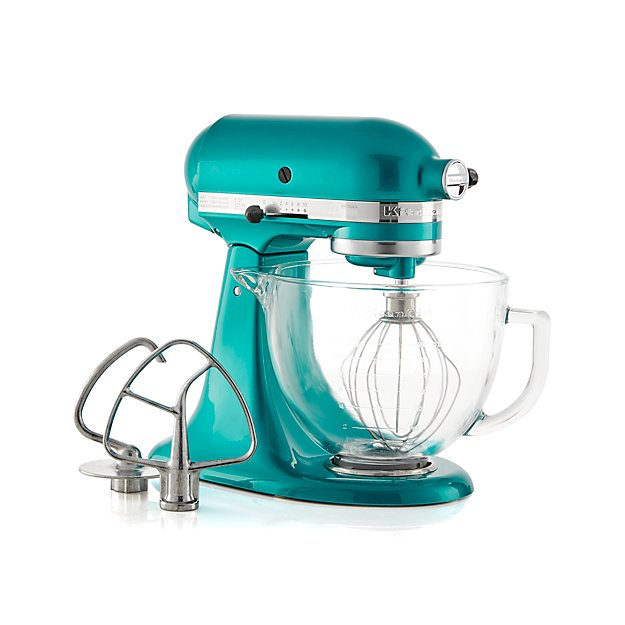 KitchenAid ® Artisan ® Design Series Sea Glass Stand Mixer - Image 1 of 3