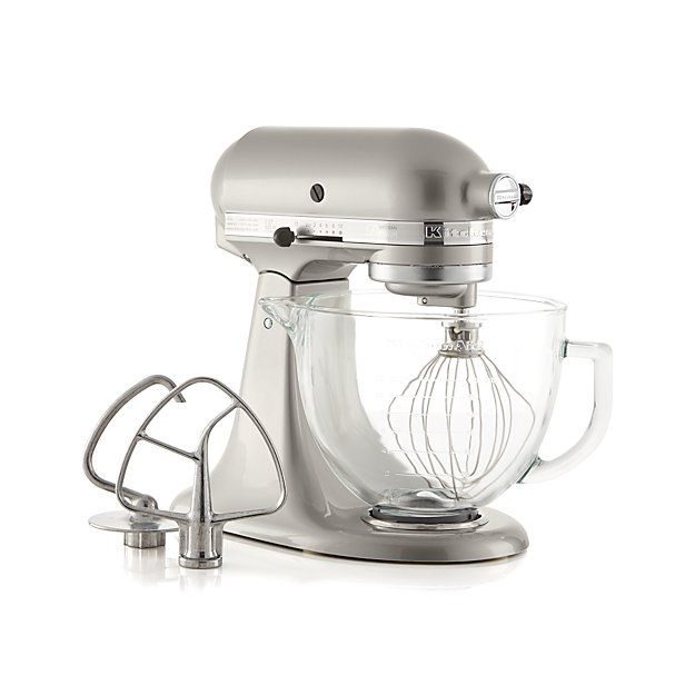 Kitchenaid Artisan Design Series Sugar Pearl Silver Stand