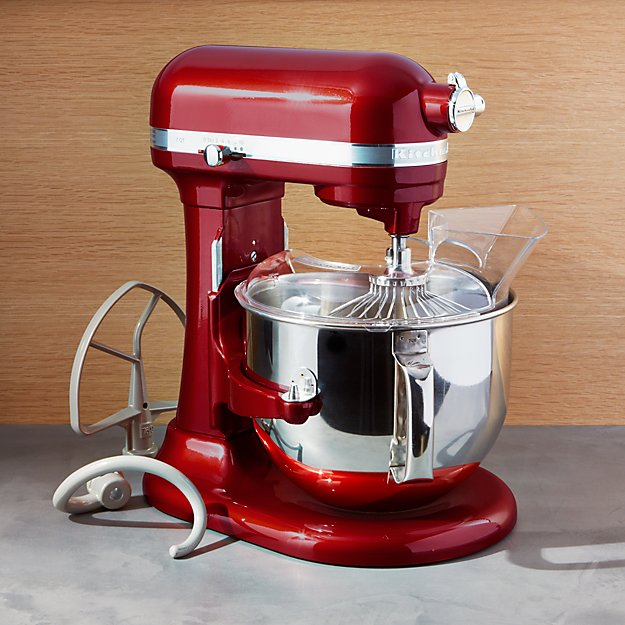 KitchenAid Pro Line Stand Mixer, Candy Apple Red | Crate and Barrel