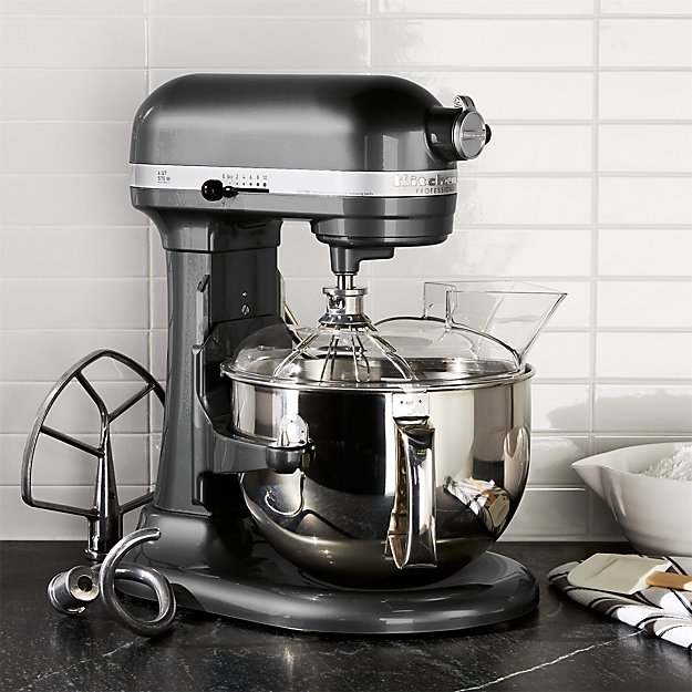 Kitchenaid Professional 600 Stand Mixer Kp26m1xpm Reviews Crate And Barrel
