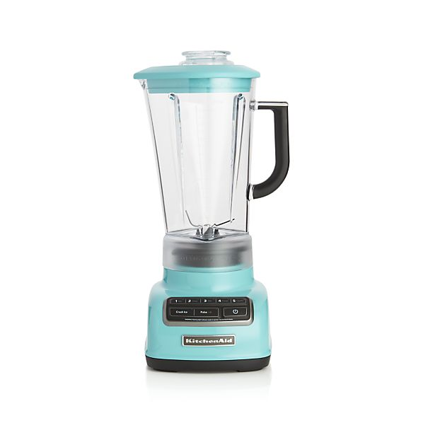 Kitchenaid 5 Speed Aqua Sky Diamond Vortex Blender