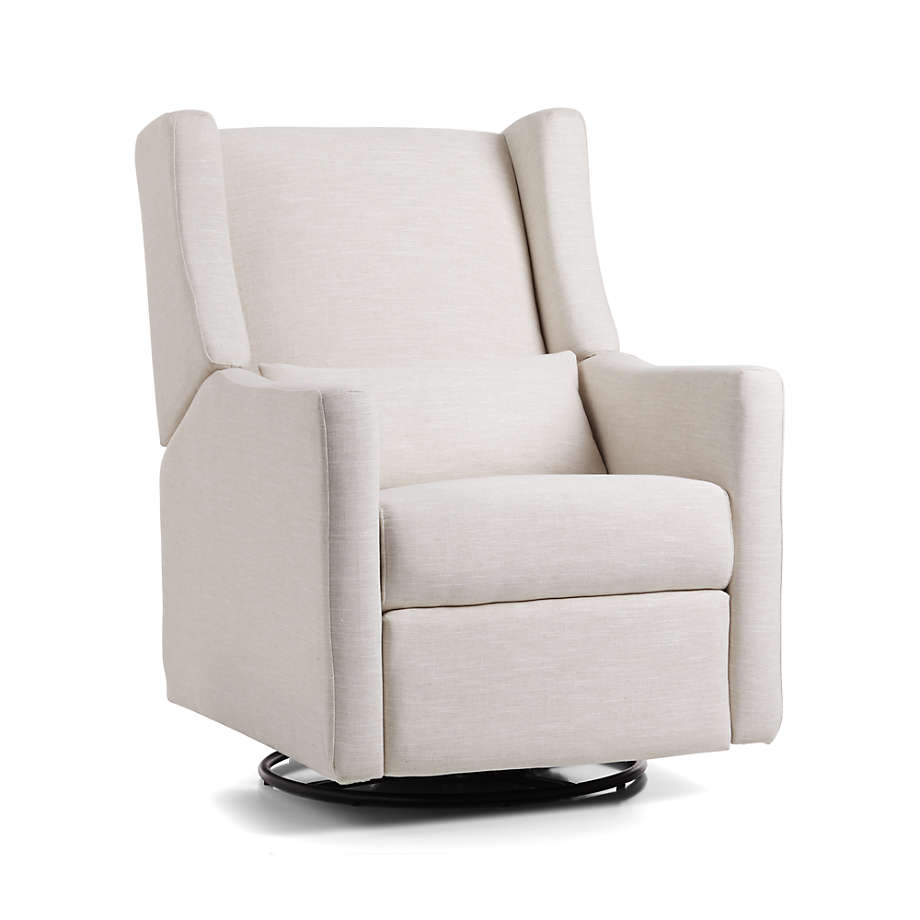 Viewing product image Babyletto Kiwi Ivory Power Recliner Glider