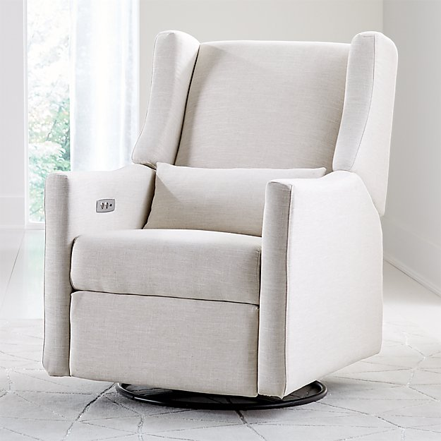 Babyletto Kiwi Ivory Power Recliner Glider Reviews
