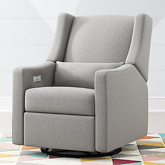Babyletto Kiwi Power Recliner Glider & Recliners | Crate and Barrel