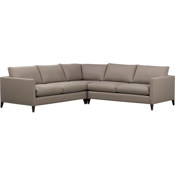 Klyne 3-Piece Sectional (Left Arm Apartment Sofa, Corner, Right Arm Apartment Sofa)