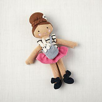 bd8e0d436fcb Knit Ballerina Toddler Doll kids. New Knit Ballerina Toddler Doll