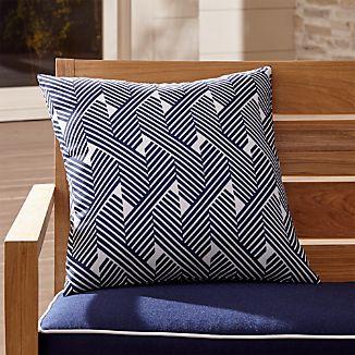 "Knots 20"" Sq. Outdoor Pillow"