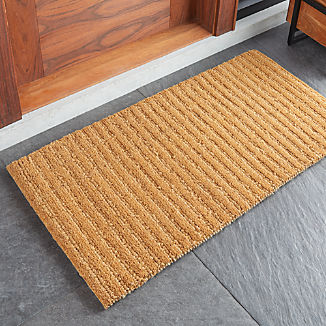 Ordinaire Natural Knotted Doormat