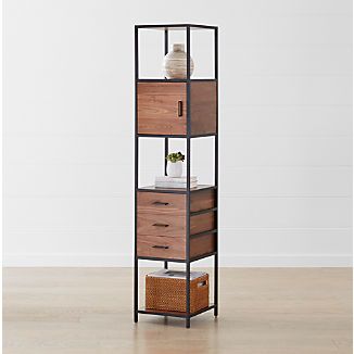 Pleasing Bookcases Shelves Crate And Barrel Beutiful Home Inspiration Xortanetmahrainfo