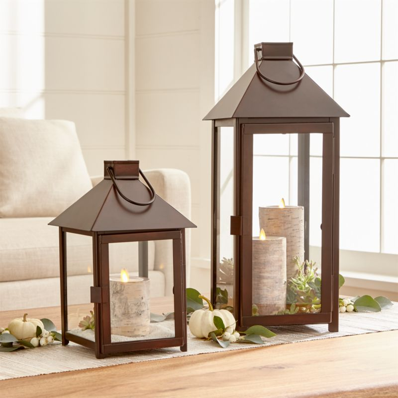 Knox Bronze Lanterns Crate And Barrel