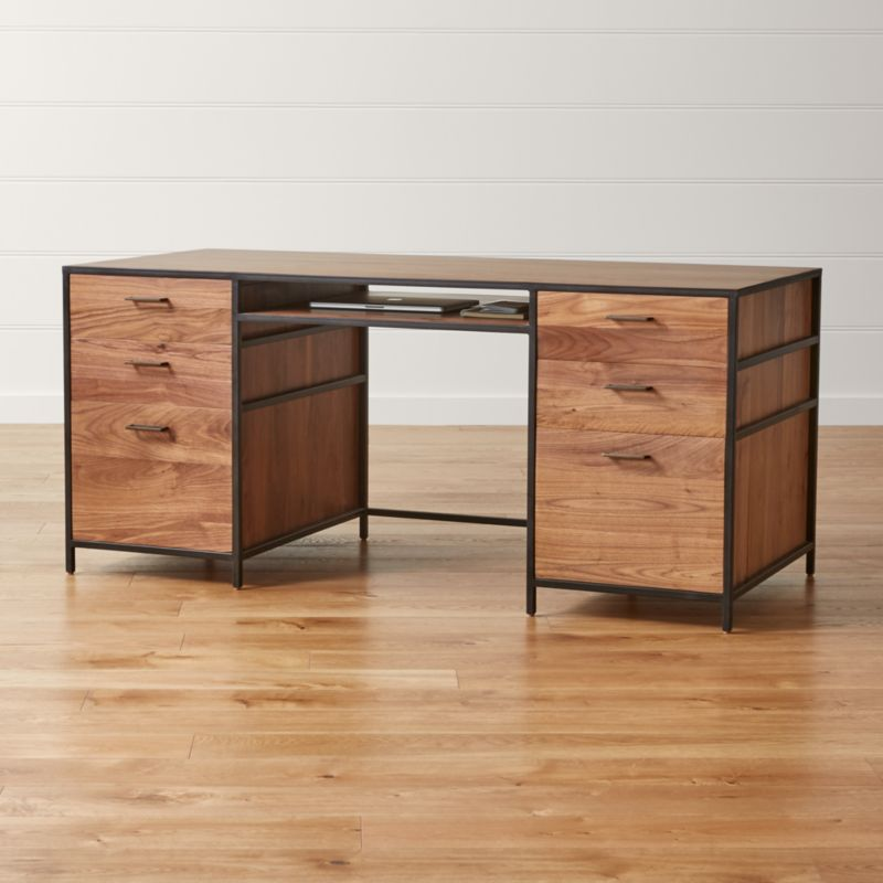 Pin It Knox Executive Desk. Knox Modular Home Office Collection   Crate and Barrel