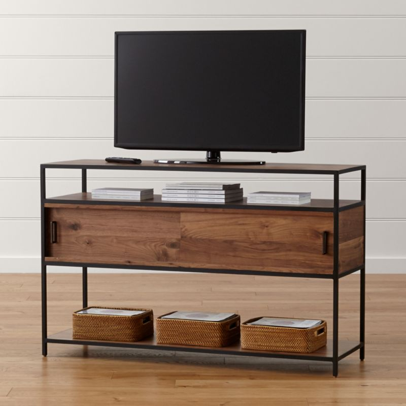 knox 56 media console - Entertainment Centers With Bookshelves