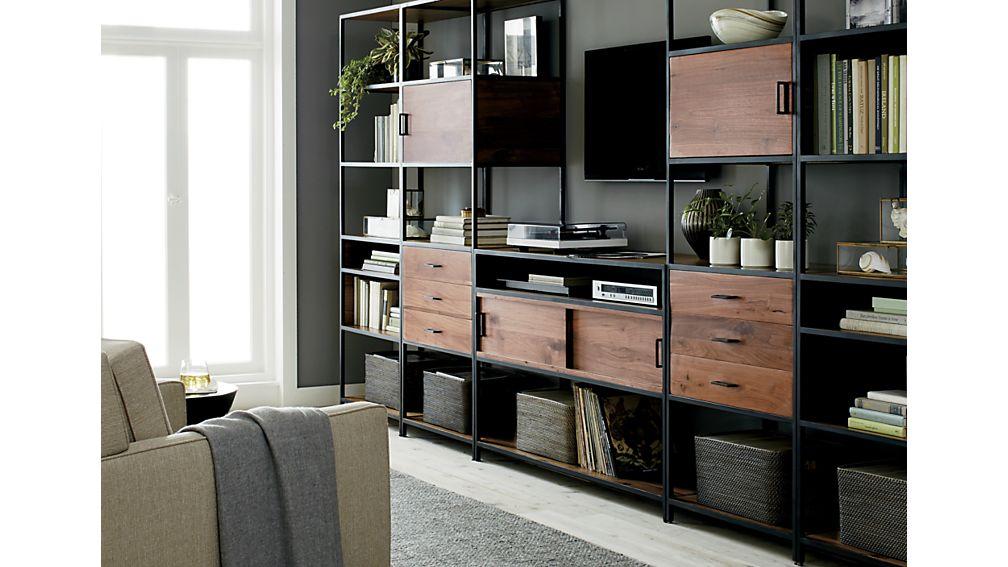 Knox Tall Storage Bookcase