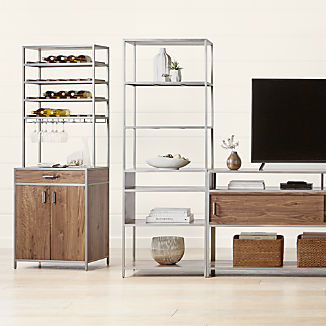 Knox Nickel Modular Storage Collection