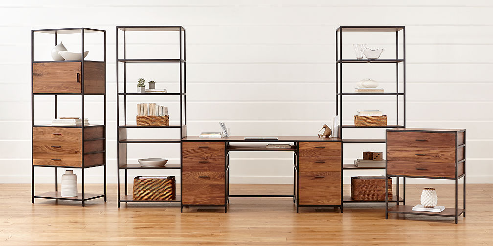 Modular office furniture crate and barrel - Home office mobel ...