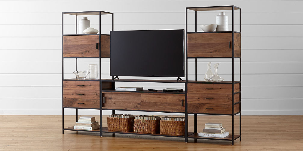 Modular Home Office Collections Crate And Barrel - Modular home office furniture