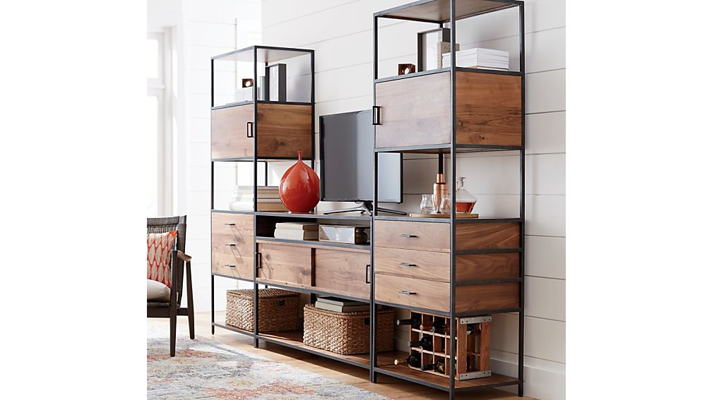 Knox Low Storage Bookcase