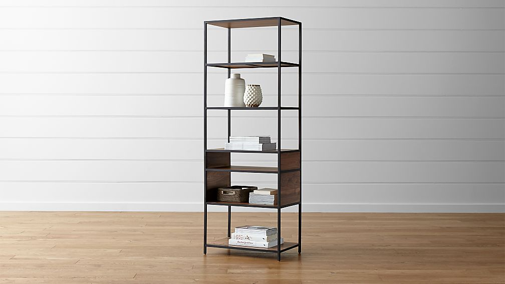 Knox Tall Open Bookcase - Image 1 of 11