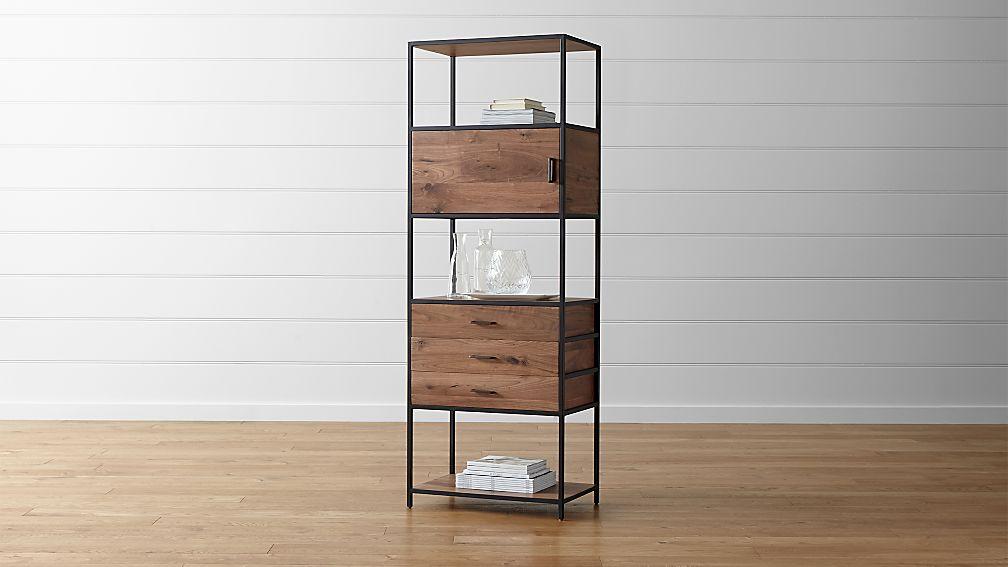 Fantastic Knox Tall Storage Bookcase + Reviews | Crate and Barrel TG76