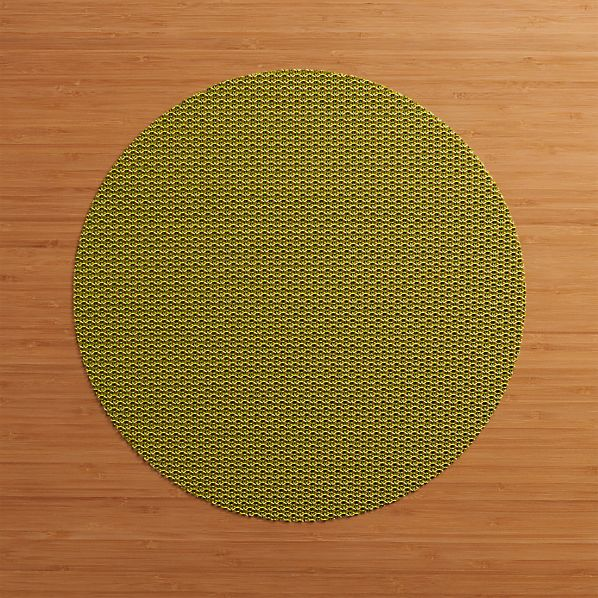 Chilewich ® Knitty Green Placemat