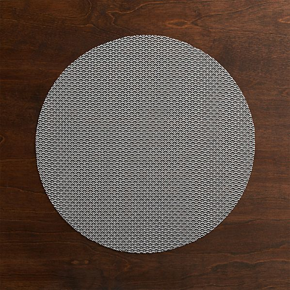 Chilewich ® Knitty Grey Placemat