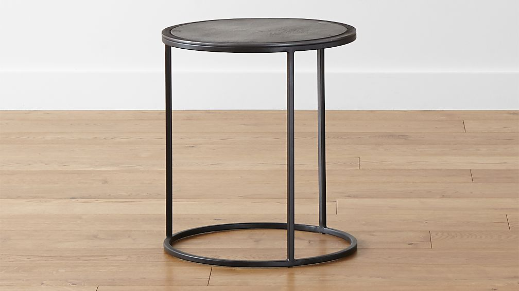 Knurl Small Accent Table. Knurl Small Accent Table   Crate and Barrel