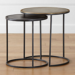 accent tables (coffee, console, end & side tables) | crate and barrel Long Night Table