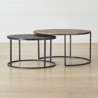 fa8960298b01 Knurl Nesting Coffee Tables Set of Two
