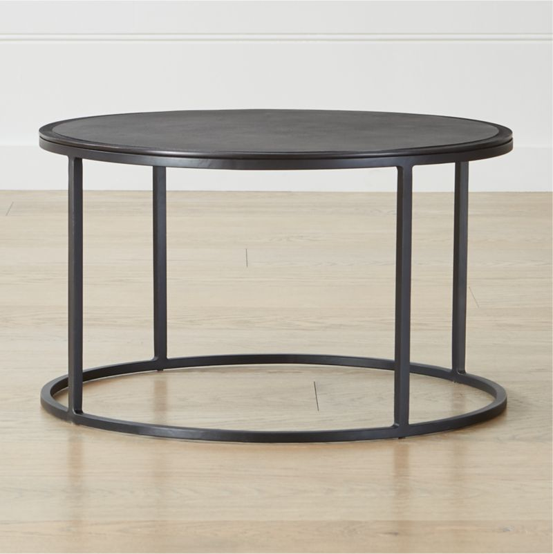 Knurl Small Coffee Table Reviews Crate And Barrel