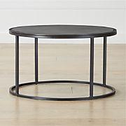 Pleasing Black Coffee Tables Crate And Barrel Inzonedesignstudio Interior Chair Design Inzonedesignstudiocom