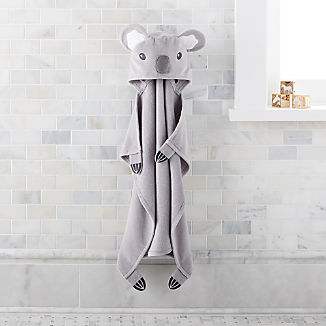 Baby Koala Hooded Towel