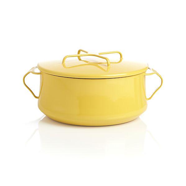 Dansk ® Kobenstyle Yellow 4-Quart Casserole