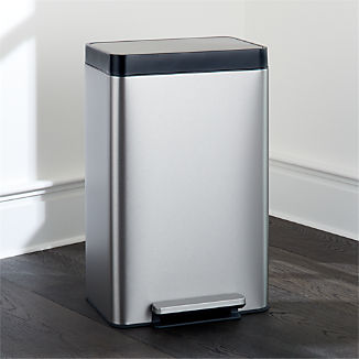 Kohler ® Dual-Compartment Stainless Steel Step Trash Can