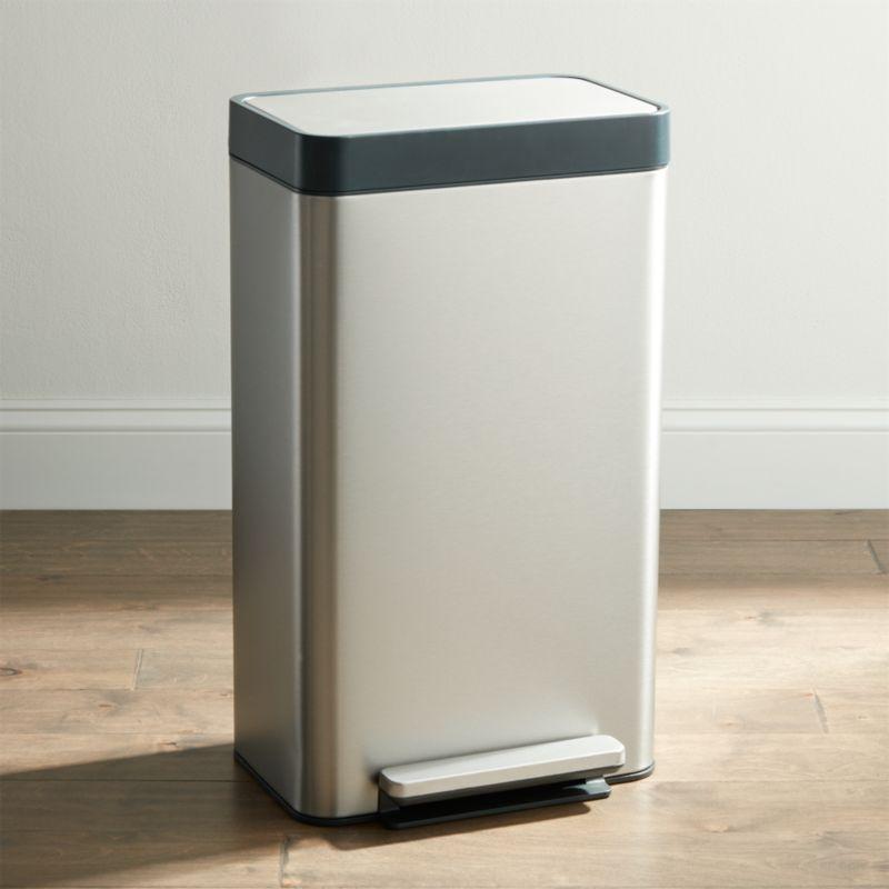 Kohler ® Stainless Steel 8-Gallon Loft Step Trash Can