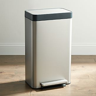 Delicieux Kohler ® Stainless Steel 8 Gallon Loft Step Trash Can
