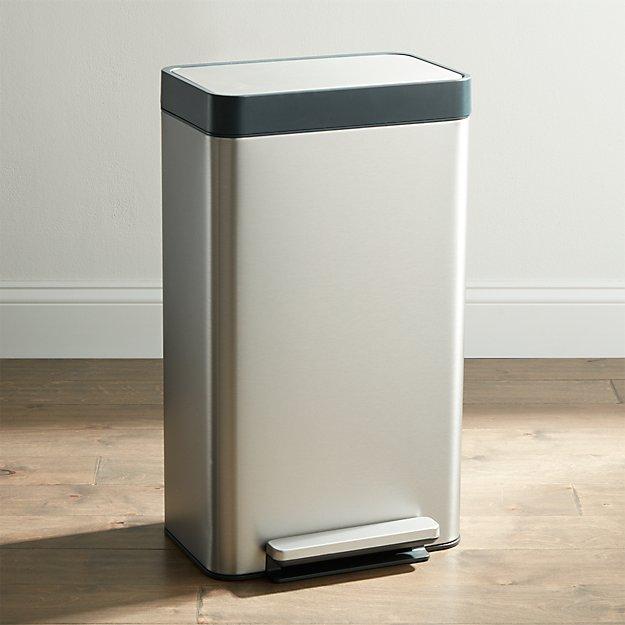 Kohler ® Stainless Steel 8-Gallon Loft Step Trash Can - Image 1 of 6