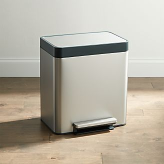 Kohler ® Stainless Steel 8 Gallon Pantry Step Trash Can