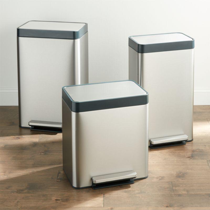 Kohler Stainless Steel Trash Can