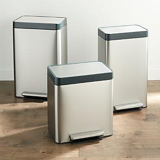 Kohler ® Stainless Steel Trash Can