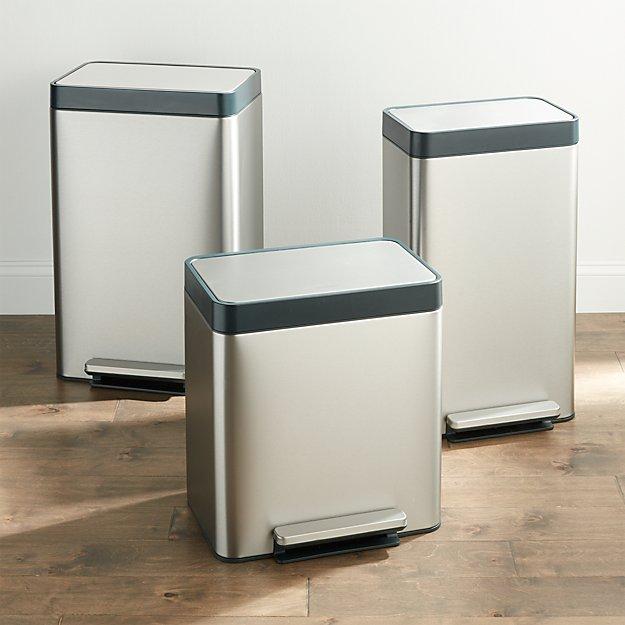 Kohler ® Stainless Steel Trash Can - Image 1 of 4