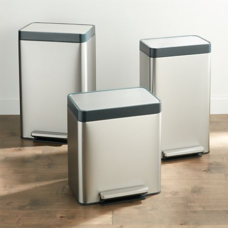 Kohler ® Stainless Steel Trash Can