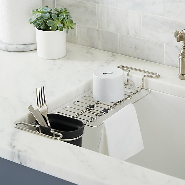 Kohler Sink Utility Rack + Reviews | Crate and Barrel