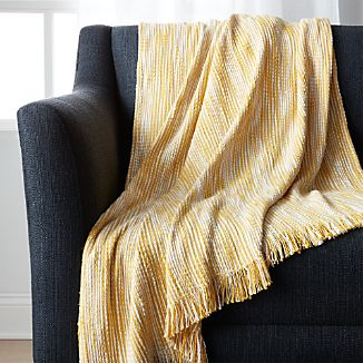 Korman Yellow Throw