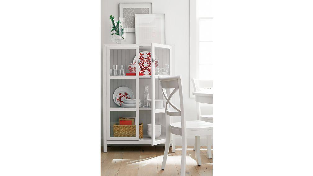 Kraal White Cabinet