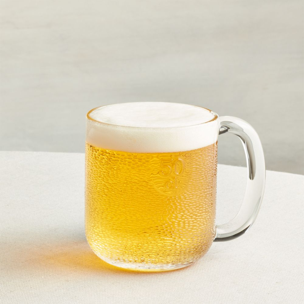 Iittala Krouvi 20 oz. Beer Mug - Crate and Barrel
