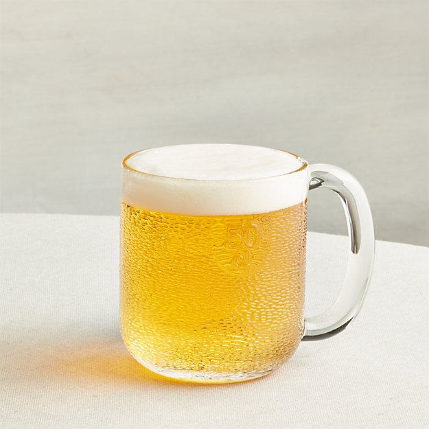 Iittala Krouvi 20 oz. Beer Mug + Reviews   Crate and Barrel
