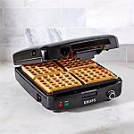 Krups 4-Slice Belgian Waffle Maker