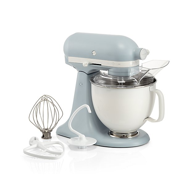Limited Edition Heritage Artisan® Series Model K 5 Quart Misty Blue Tilt-Head Stand Mixer - Image 1 of 4