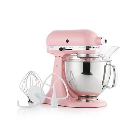 KitchenAid Artisan Guava Glaze Stand Mixer + Reviews | Crate ...